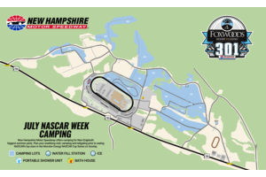 Camping Map - Foxwoods Resort Casino 301