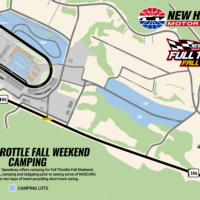 Camping Map - Full Throttle Fall Weekend