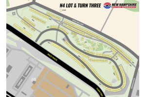 Camping Map - N4 Lot & Turn Three