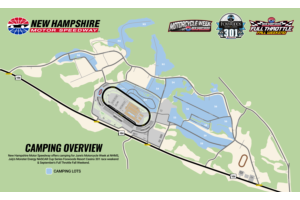 Camping Map - NHMS Overview