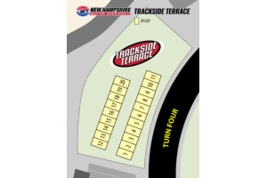 Camping Map - Trackside Terrace