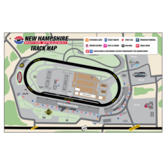 Foxwoods Resort Casino 301 Track Map