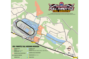Full Throttle Fall Weekend Event Map