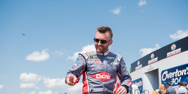 Austin Dillon will visit the Champions Club on the morning of the ISM Connect 300 at New Hampshire Motor Speedway.
