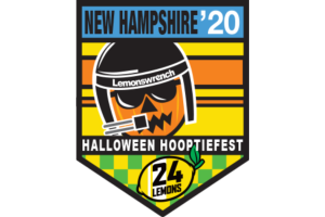24 Hours of Lemons <span class=presented>Halloween Hooptiefest</span> Logo