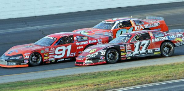 Eddie MacDonald (17) will be a favorite to repeat as this year's Bond Auto Parts ACT Invitational champion on Sept. 24 at New Hampshire Motor Speedway.
