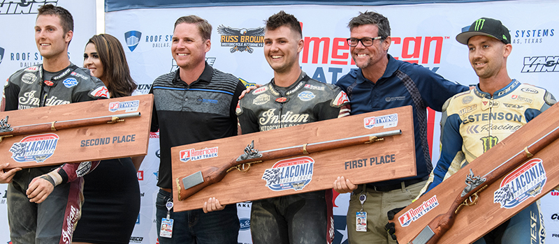 Laconia Short Track presented by Russ Brown Motorcycle Attorneys 2019