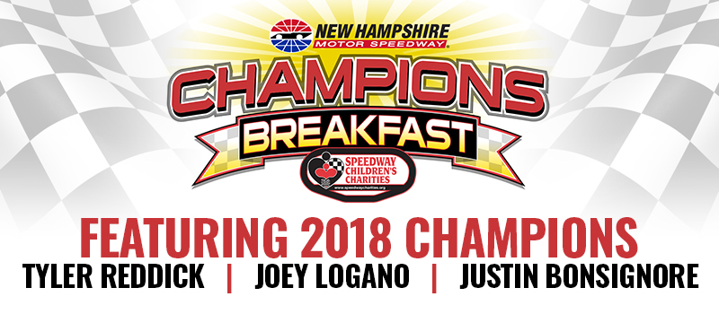 2019 Speedway Children's Charities New Hampshire Chapter Champions Breakfast
