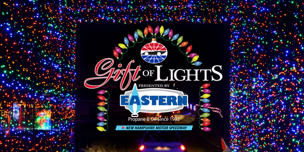 The Gift of Lights returns to New Hampshire Motor Speedway Nov. 24-Dec. 31.