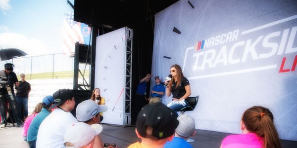 The Trackside Live Stage is just one of the many amenities that will make the September race weekend a wicked good time.