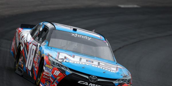 Kyle Busch is on the pole for Saturday afternoon's Overton's 200 XFINITY Series race at 4:00 p.m.