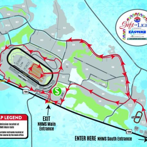 Gift of Lights Revised Route