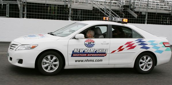 Rachel Gilbert, who drove the pace car around New Hampshire Motor Speedway in 2011 for her 100th birthday, passed away at the age of 104 on April 9.