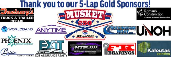 5-Lap Gold Sponsors