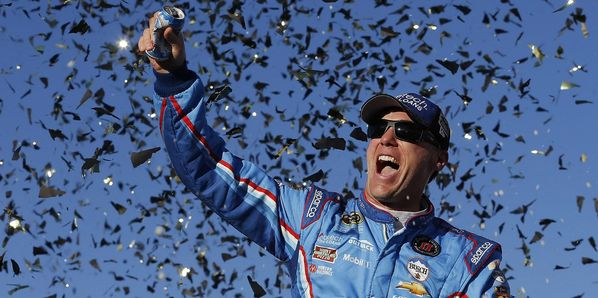 Kevin Harvick picked up his second career Cup Series win at New Hampshire  Motor Speedway in Sunday's Bad Boy Off Road 300.