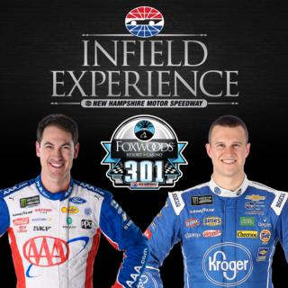 Joey Logano and Ryan Preece Added to Infield Experience 2019 Thumbnail