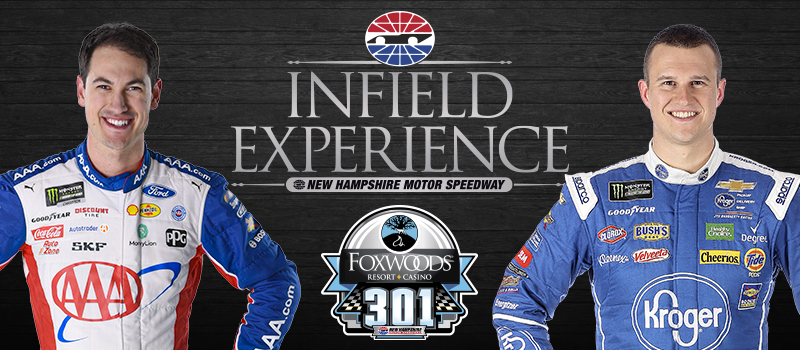 Joey Logano and Ryan Preece Added to Infield Experience 2019