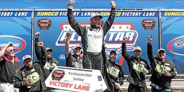 Justin Bonsignore Wins NASCAR Whelen Modified Tour All Star Shootout