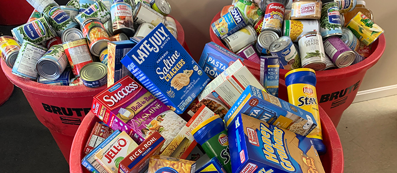Loudon Food Pantry Donations 2019