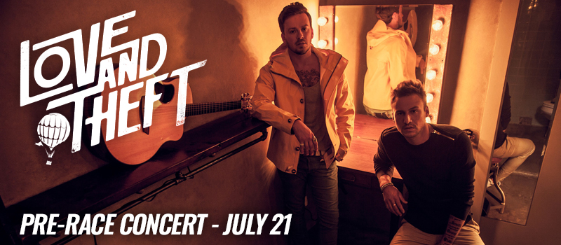 Pre-Race Concert: Love And Theft 2019