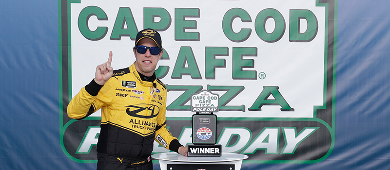 MENCS Cape Cod Cafe Pizza Pole Day Winner - Brad Keselowski 071919