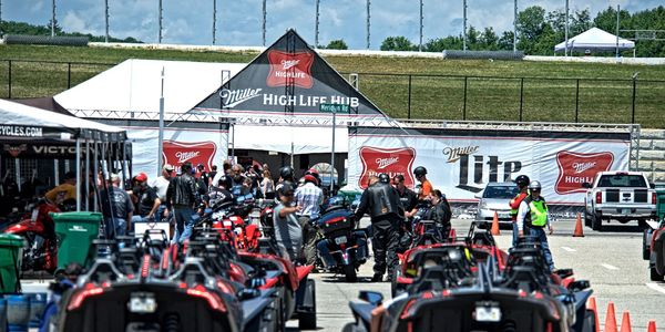 Slingshot demo rides and the Miller High Life Hub will be just two of the many attractions pulling in riders from across the country June 10-18 at New Hampshire Motor Speedway.