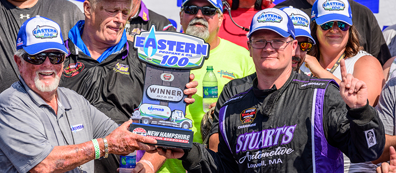 NWMT Eastern Propane & Oil 100 Winner - Ron Silk 072019