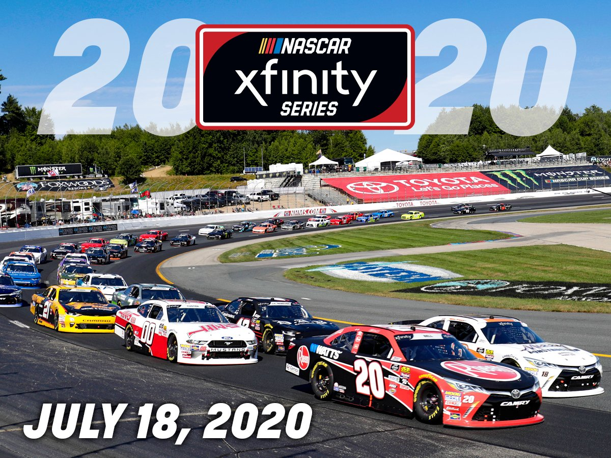 2020 monster energy nascar cup series schedule