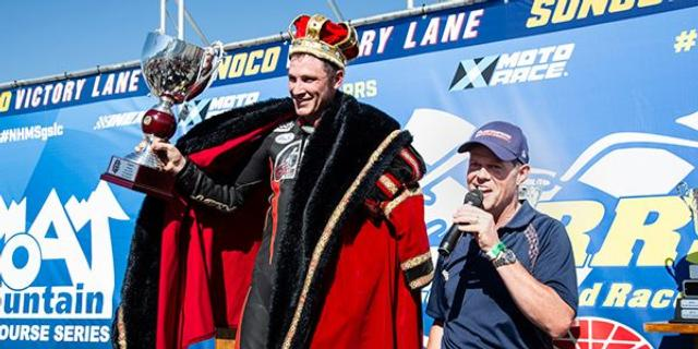 Shane Narbonne Crowned King of the Loudon Classic