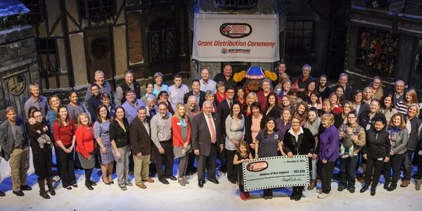The New Hampshire chapter of Speedway Children's Charities held its eighth annual grant distribution ceremony on Thursday at the Palace Theatre, where a record $267,528 was handed out to 63 organizations, a total that will benefit more than 120,000 children.