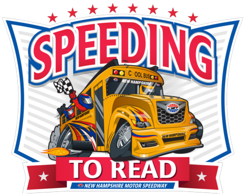 Speeding to Read logo