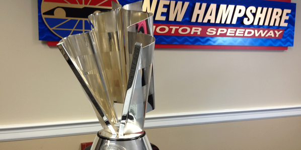 Sprint Cup Trophy at NHMS