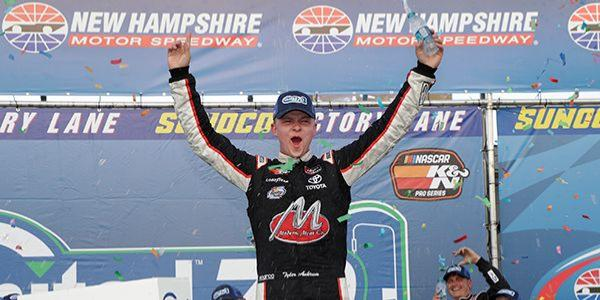 Tyler Ankrum Wins the NASCAR K&N Pro Series East United Site Services 70