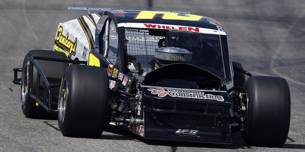 Doug Coby picked up his second straight win and his fourth victory in his last eight starts at New Hampshire Motor Speedway on Saturday in the New England 100.