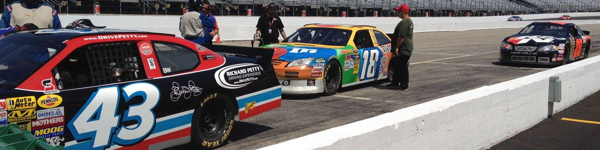 Richard Petty Driving Experience Header