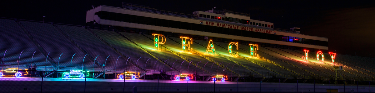 12 days of nhms christmas tickets nhms for New hampshire motor speedway christmas lights