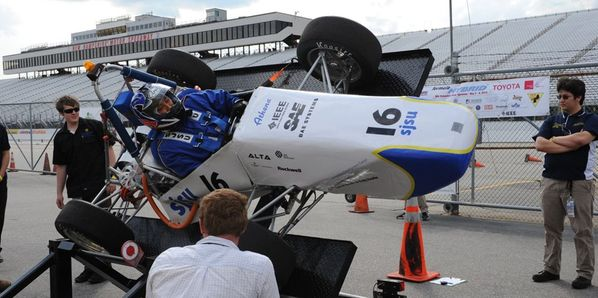 Formula Hybrid, an annual spring tradition at New Hampshire Motor Speedway, will celebrate a decade-long run at the speedway next week May 2-5 when it kicks off the 10th annual Formula Hybrid Competition run by Thayer School of Engineering at Dartmouth.