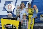 Sept. 27, 2015: Matt Kenseth punches his ticket to the next round of the Chase by winning the SYLVANIA 300.