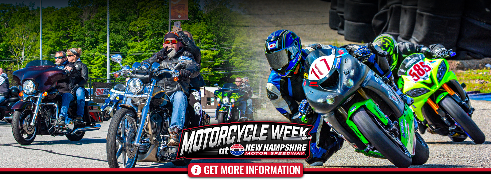 Motorcycle Week at NHMS